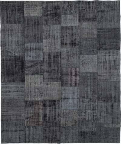 Alfombra De Retazos Turca Sobre-teñida - 256 cm x 301 cm