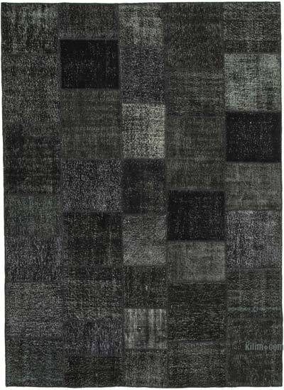 "Hand-knotted Turkish Patchwork Rug - 8' 2"" x 11' 7"" (98 in. x 139 in.)"