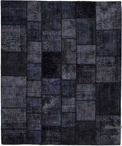 """Hand-knotted Turkish Patchwork Rug - 8'  x 9' 7"""" (96 in. x 115 in.)"""