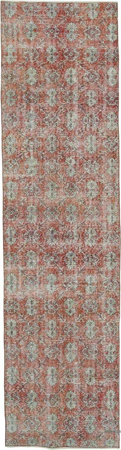 "Vintage Turkish Runner Rug - 3'  x 11' 4"" (36 in. x 136 in.)"
