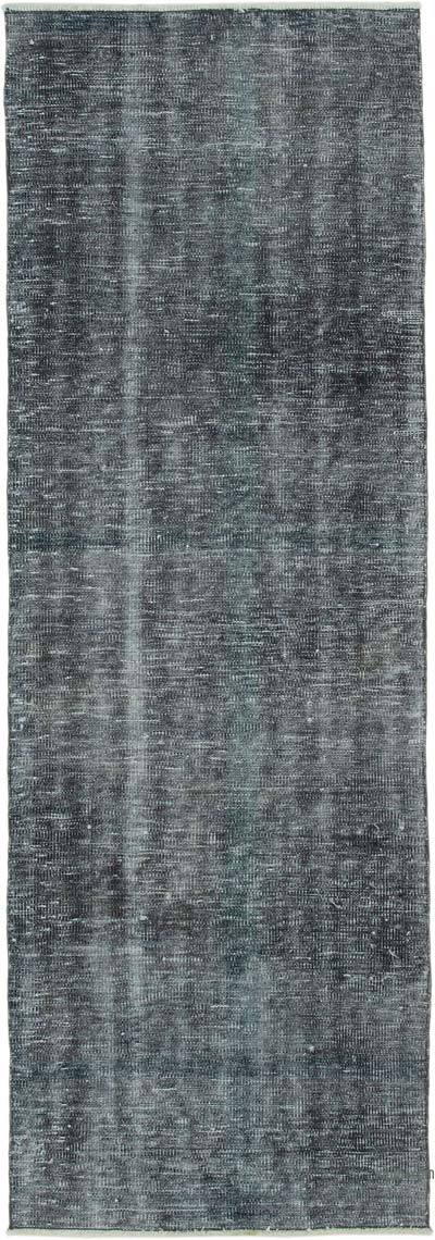 "Over-dyed Turkish Vintage Runner Rug - 2' 8"" x 7' 9"" (32 in. x 93 in.)"
