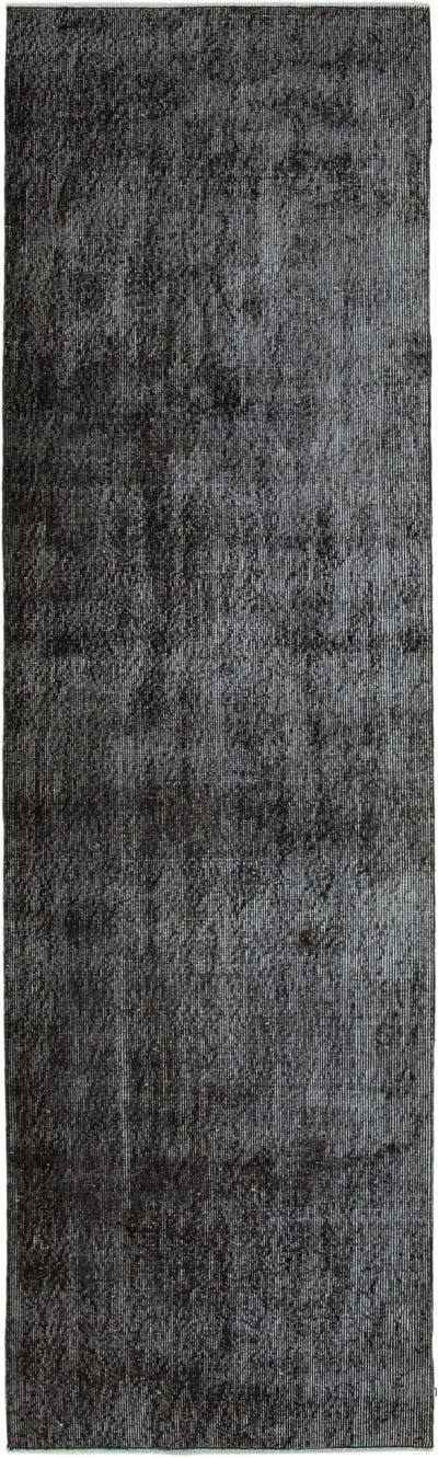 """Over-dyed Turkish Vintage Runner Rug - 2' 7"""" x 8' 10"""" (31 in. x 106 in.)"""