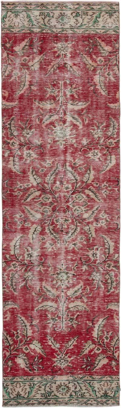 Vintage Anadolu Yolluk - 82 cm x 282 cm