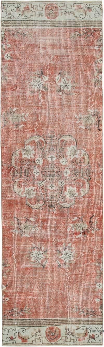 Alfombra Turca Vintage De Pasillo - 91 cm x 306 cm