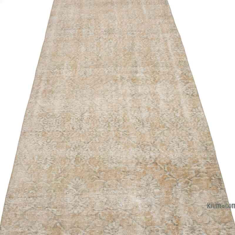 "Vintage Turkish Runner Rug - 3'  x 10' 10"" (36 in. x 130 in.) - K0050123"