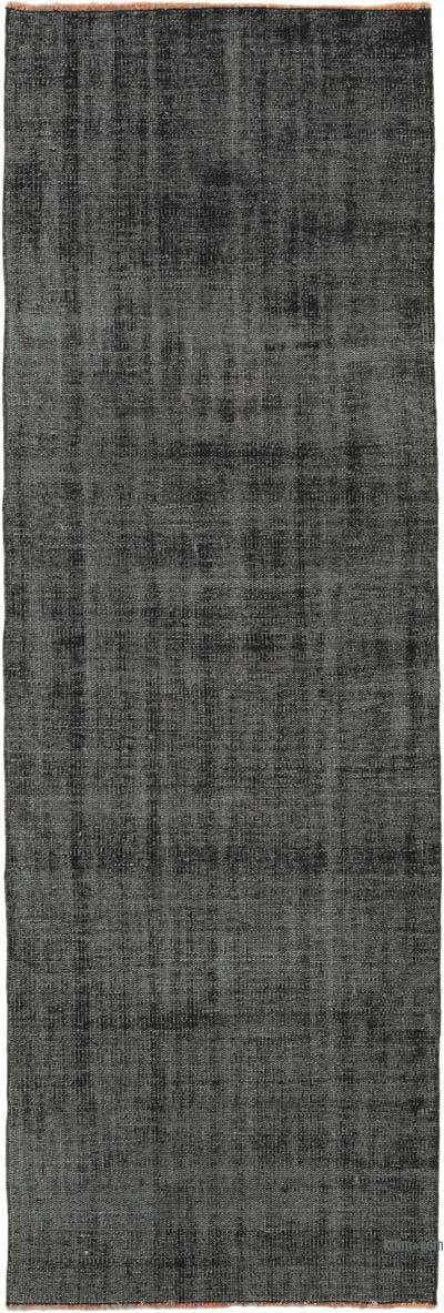 "Over-dyed Turkish Vintage Runner Rug - 2' 8"" x 8' 1"" (32 in. x 97 in.)"