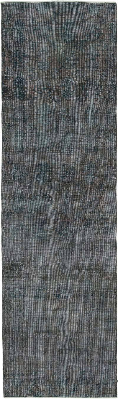"Over-dyed Turkish Vintage Runner Rug - 2' 7"" x 9' 1"" (31 in. x 109 in.)"