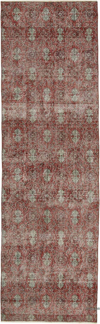 Vintage Anadolu Yolluk - 90 cm x 296 cm