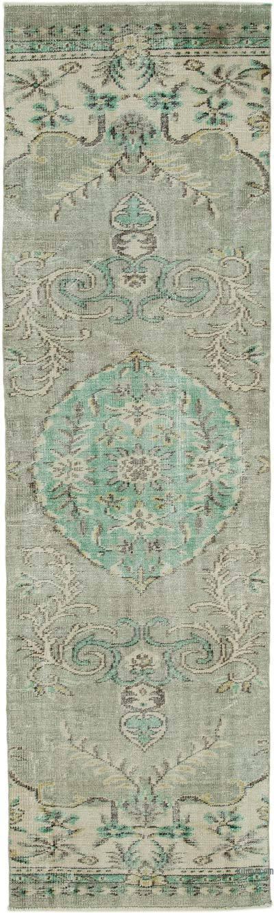 Alfombra Turca Vintage De Pasillo - 82 cm x 280 cm