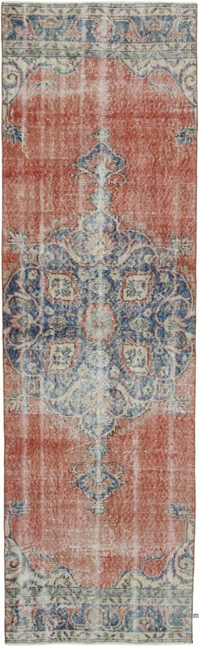 Vintage Anadolu Yolluk - 92 cm x 303 cm