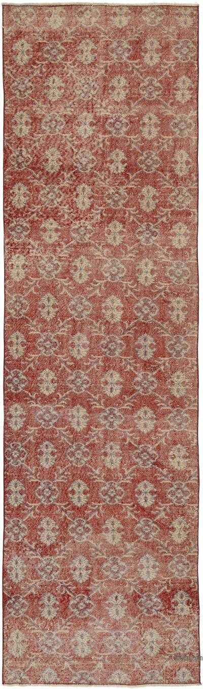 "Vintage Turkish Runner Rug - 3'  x 10' 4"" (36 in. x 124 in.)"