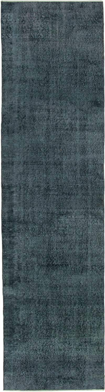 """Over-dyed Turkish Vintage Runner Rug - 2' 8"""" x 10' 3"""" (32 in. x 123 in.)"""