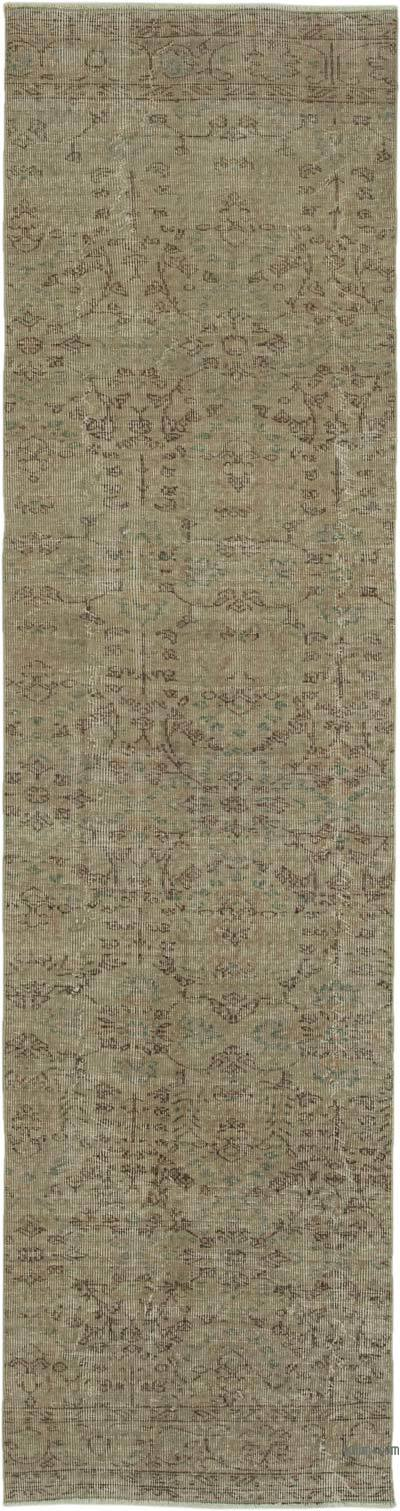 "Vintage Turkish Runner Rug - 2' 8"" x 10' 5"" (32 in. x 125 in.)"