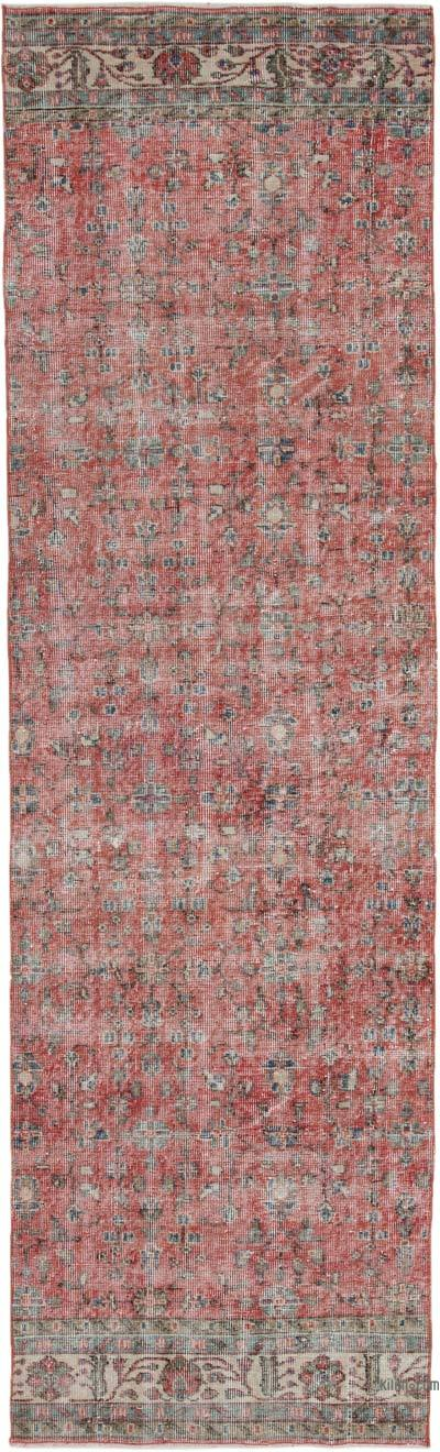 "Vintage Turkish Runner Rug - 3'  x 10' 2"" (36 in. x 122 in.)"