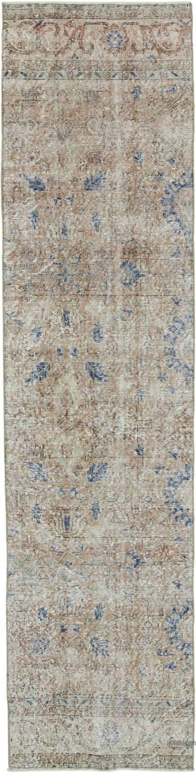 Vintage Anadolu Yolluk - 74 cm x 296 cm