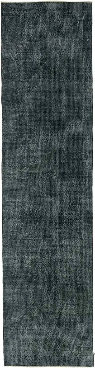 """Over-dyed Turkish Vintage Runner Rug - 2' 7"""" x 10' 4"""" (31 in. x 124 in.)"""