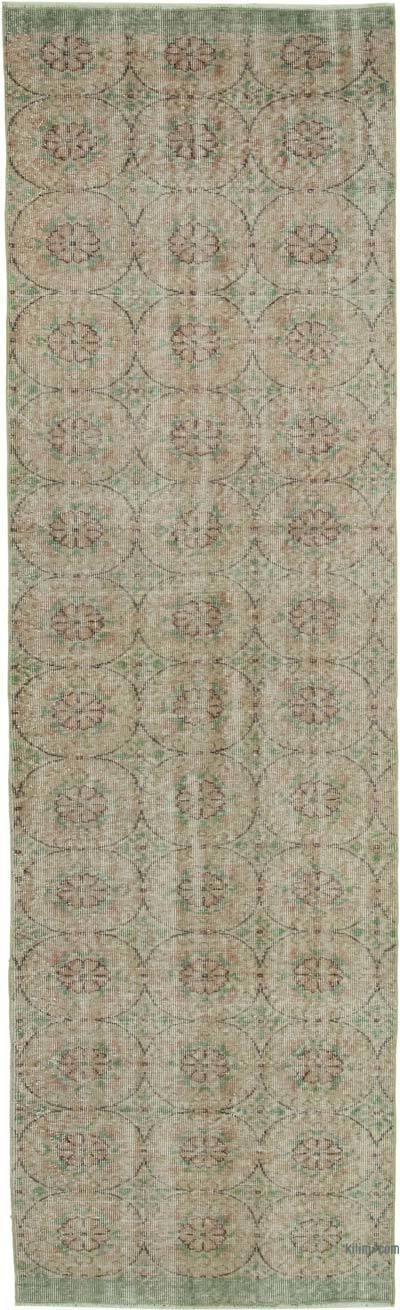 "Vintage Turkish Runner Rug - 3'  x 10' 2"" (36 in. x 122 in.)"