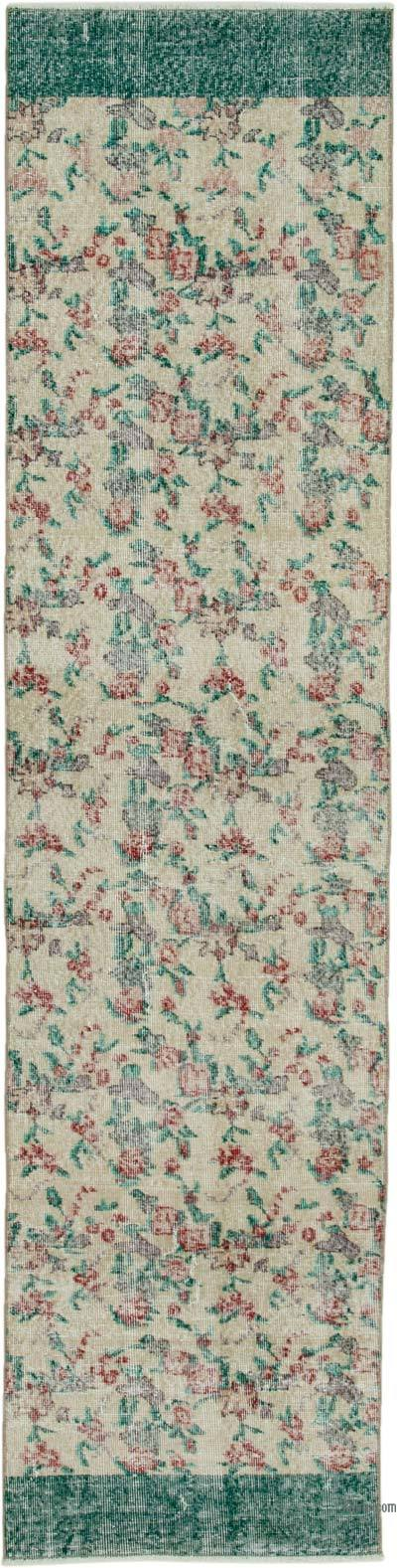 Alfombra Turca Vintage De Pasillo - 72 cm x 297 cm