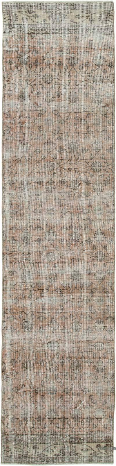 Alfombra Turca Vintage De Pasillo - 74 cm x 310 cm