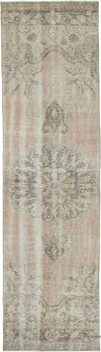 Alfombra Turca Vintage De Pasillo - 92 cm x 330 cm