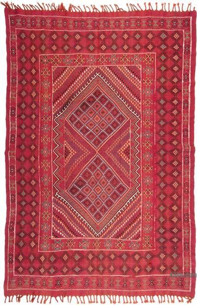 Vintage Turkoman Kilim