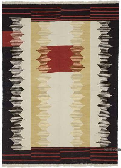 """New Handwoven Turkish Kilim Rug - 6'  x 8' 3"""" (72 in. x 99 in.)"""