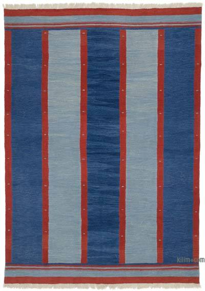 "New Handwoven Turkish Kilim Rug - 6' 1"" x 8' 6"" (73 in. x 102 in.)"