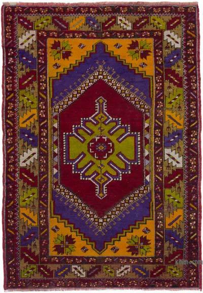 "Turkish Vintage Rug - 3' 9"" x 5' 6"" (45 in. x 66 in.)"