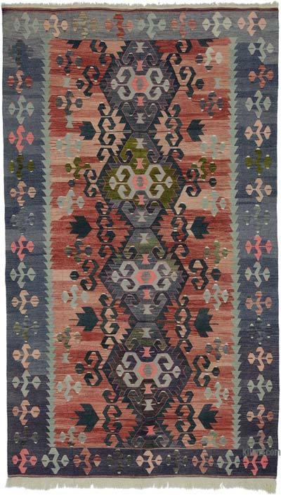 """Vintage Oushak Kilim Rug - 5' 10"""" x 10'  (70 in. x 120 in.)"""