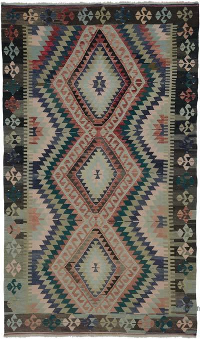 """Vintage Oushak Kilim Rug - 6' 7"""" x 11' 1"""" (79 in. x 133 in.)"""