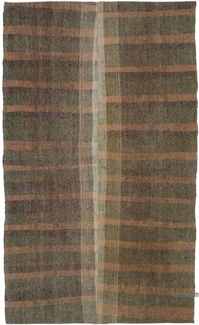 "Vintage Turkish Pala Kilim (Chaput) - 6' 1"" x 9' 10"" (73 in. x 118 in.)"