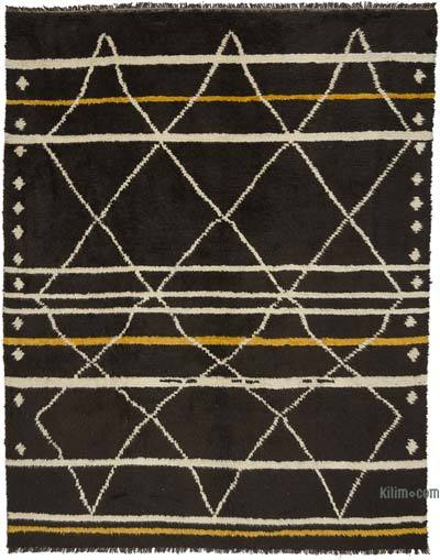 "New Turkish Tulu Rug - 8' 11"" x 11' 4"" (107 in. x 136 in.)"