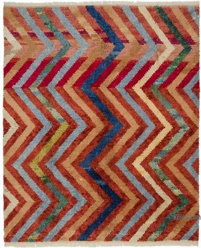 "New Turkish Tulu Rug - 8' 11"" x 10' 10"" (107 in. x 130 in.)"