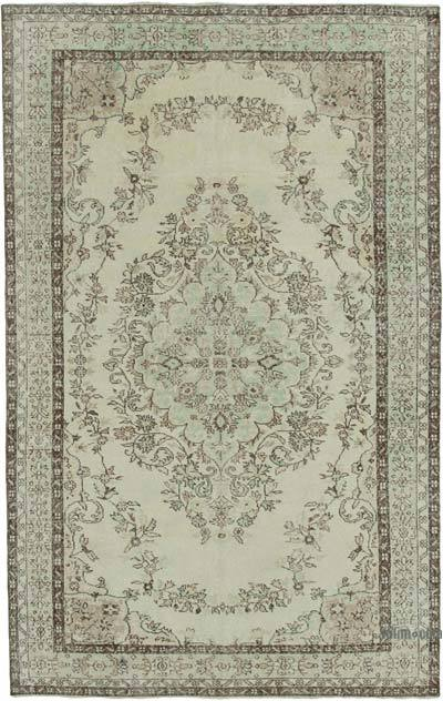 """Vintage Turkish Hand-Knotted Rug - 6' 3"""" x 10' 2"""" (75 in. x 122 in.)"""