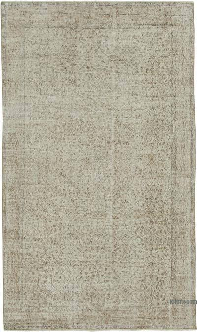 """Vintage Turkish Hand-Knotted Rug - 5' 3"""" x 8' 9"""" (63 in. x 105 in.)"""