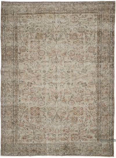 """Vintage Turkish Hand-Knotted Rug - 6' 5"""" x 8' 9"""" (77 in. x 105 in.)"""