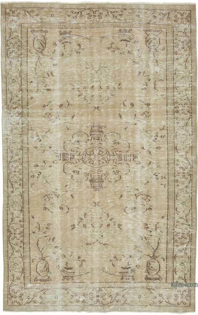 """Vintage Turkish Hand-knotted Area Rug - 4' 11"""" x 7' 11"""" (59 in. x 95 in.)"""
