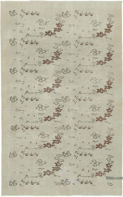 """Vintage Turkish Hand-Knotted Rug - 5' 6"""" x 8' 7"""" (66 in. x 103 in.)"""