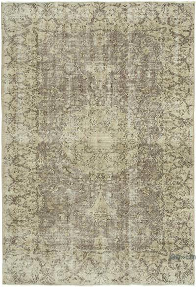 """Vintage Turkish Hand-Knotted Rug - 5' 2"""" x 7' 7"""" (62 in. x 91 in.)"""