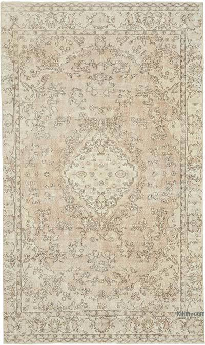 """Vintage Turkish Hand-knotted Area Rug - 6'  x 10' 3"""" (72 in. x 123 in.)"""