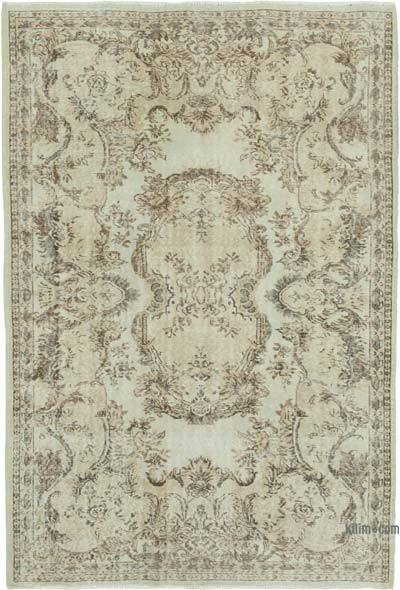 """Vintage Turkish Hand-Knotted Rug - 5' 7"""" x 8' 2"""" (67 in. x 98 in.)"""