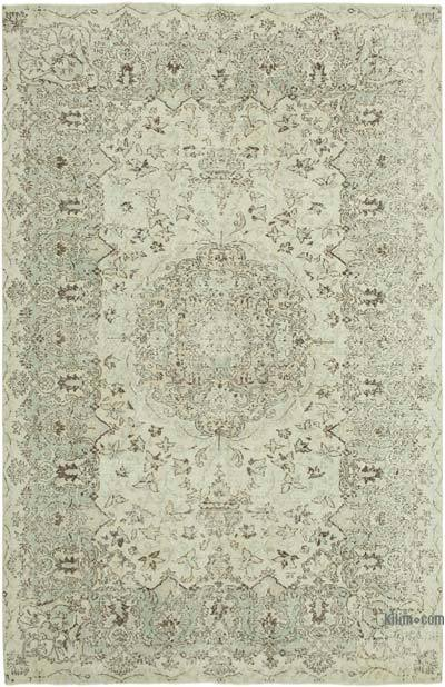 """Vintage Turkish Hand-Knotted Rug - 6' 9"""" x 10' 5"""" (81 in. x 125 in.)"""