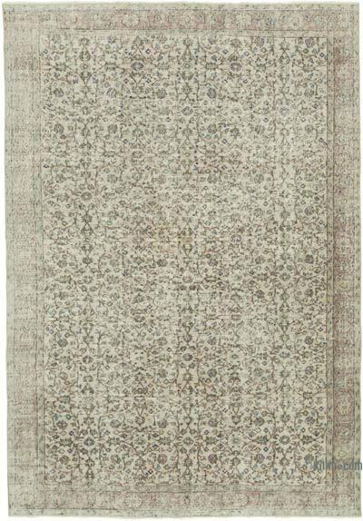 Vintage El Dokuma Anadolu Halısı - 217 cm x 321 cm