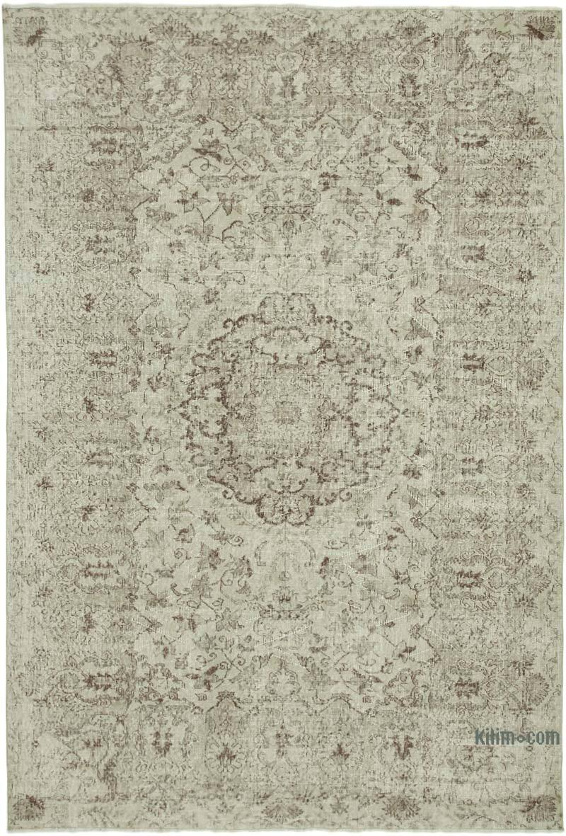 """Vintage Turkish Hand-Knotted Rug - 7' 3"""" x 10' 5"""" (87 in. x 125 in.) - K0050923"""