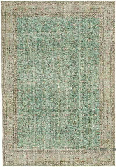 """Vintage Turkish Hand-knotted Area Rug - 7'  x 10' 2"""" (84 in. x 122 in.)"""