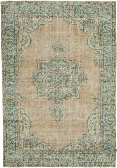 Alfombra Vintage Turca Anudada a Mano - 218 cm x 299 cm