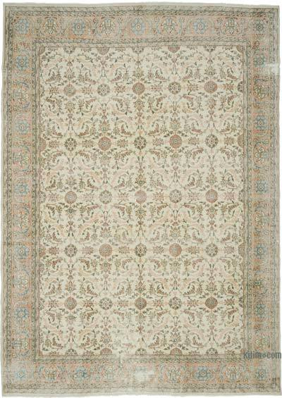 """Vintage Turkish Hand-Knotted Rug - 7' 11"""" x 11' 3"""" (95 in. x 135 in.)"""