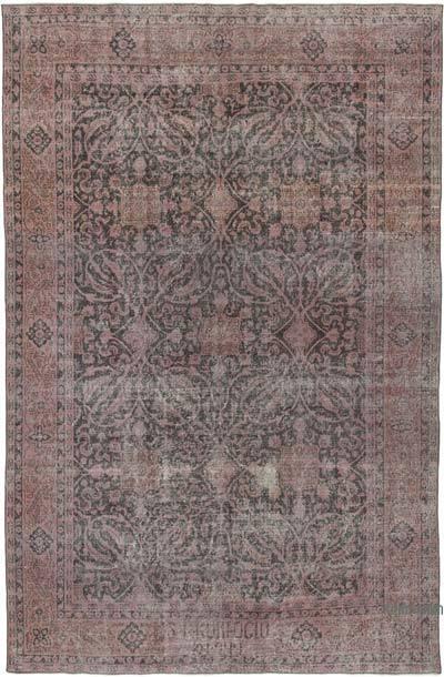 Vintage El Dokuma Anadolu Halısı