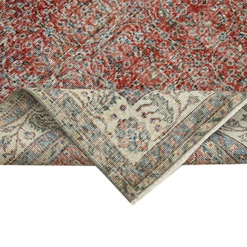 """Vintage Turkish Hand-Knotted Rug - 7' 1"""" x 10' 3"""" (85 in. x 123 in.) - K0050974"""