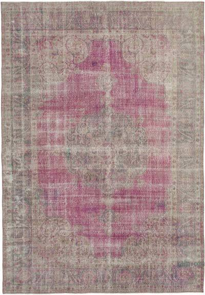 """Vintage Turkish Hand-Knotted Rug - 7' 10"""" x 11' 2"""" (94 in. x 134 in.)"""